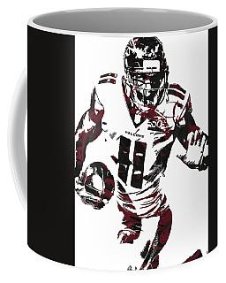 Julio Jones Atlanta Falcons Pixel Art 4 Coffee Mug