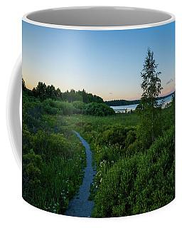 July Sunset At The Lake Enajarvi Coffee Mug