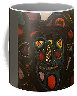 Jumbled Mindset Coffee Mug by Darrell Black