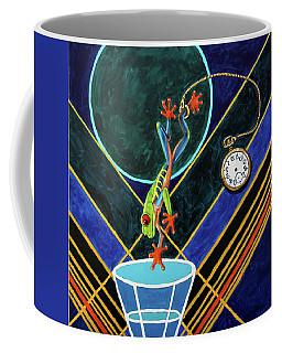 Jumping Into A Wormhole Coffee Mug