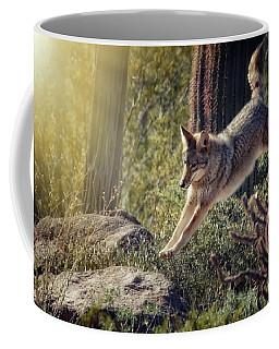 Jumping Rocks Coffee Mug by Elaine Malott