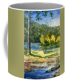 Junction Of White And Spring Rivers Coffee Mug