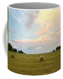 June Hay Coffee Mug by Christine Lathrop