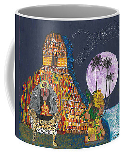 June  Shaman And Priestess  Coffee Mug