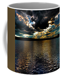 Coffee Mug featuring the photograph June Sunset On Nicks Lake by David Patterson
