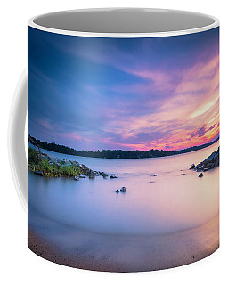 June Sunset On The River Coffee Mug