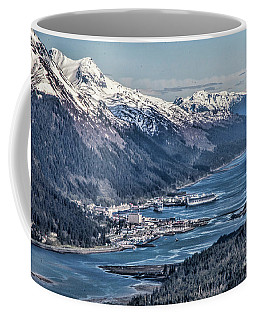 Juneau From Above Coffee Mug
