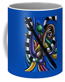 Original Colorful Abstract Art Painting - Multicolored Chromatic Artwork Coffee Mug