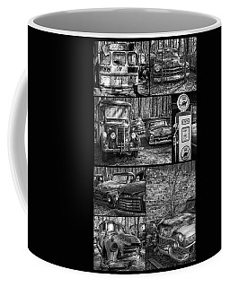 Junk Yard Cars Coffee Mug