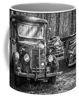 Junked Mack Truck Ad Old Plymouth Coffee Mug