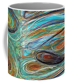 Jupiter Explored - An Abstract Interpretation Of The Giant Planet Coffee Mug