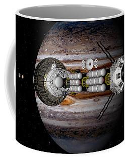 Jupiter Looming Coffee Mug