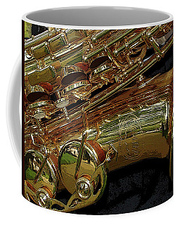 Jupiter Saxophone Coffee Mug
