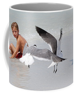 Just A Day At The Beach Jdabp Coffee Mug