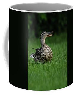 Just A Happy Duck Coffee Mug