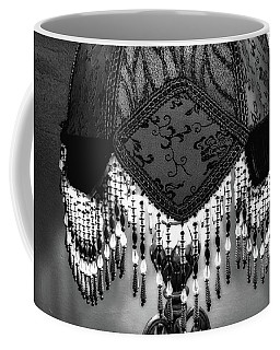 Just A Lamp In The Bar Bw Coffee Mug