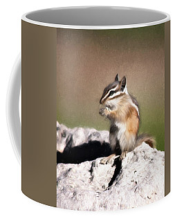 Coffee Mug featuring the photograph Just A Little Nibble by Lana Trussell