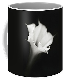 Coffee Mug featuring the photograph Just A White Flower by Eduard Moldoveanu
