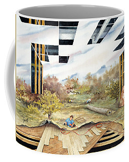 Just Another Unfinished Landscape Painting Coffee Mug