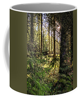 Coffee Mug featuring the photograph Just Beyond  by Geoff Smith