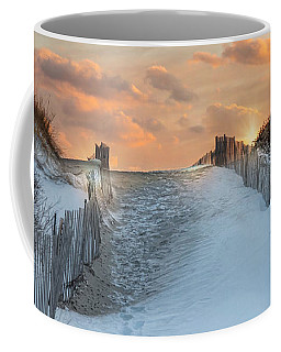 Coffee Mug featuring the photograph Just Beyond by Robin-Lee Vieira