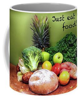 Just Eat Real Food Coffee Mug