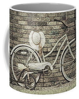 Coffee Mug featuring the digital art Just Getting Better by Bonnie Willis