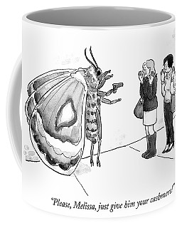 Just Give Him Your Cashmere Coffee Mug