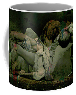 Coffee Mug featuring the digital art Just Give Me A Reason by Paul Lovering