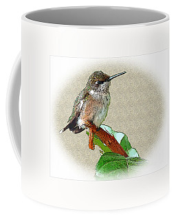 Coffee Mug featuring the photograph Just Hangin' Out by Sue Melvin