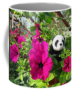 Coffee Mug featuring the photograph Just Hanging In There by Ausra Huntington nee Paulauskaite
