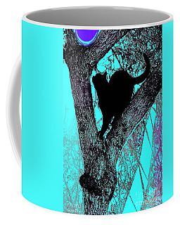 Fauve Cat And Moon Coffee Mug