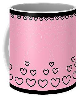 'just Hearts 8' Coffee Mug