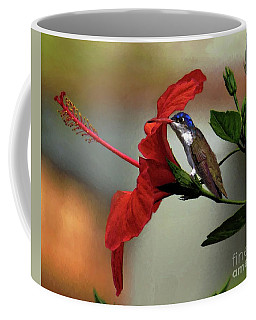 Just Hiding Out Coffee Mug by John Kolenberg