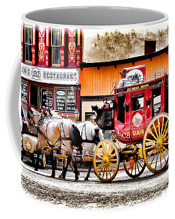 Coffee Mug featuring the photograph Just Horsin Around by Lana Trussell