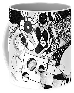 Just In Time Coffee Mug by Helena Tiainen