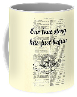 Just Married Wedding Gift Coffee Mug