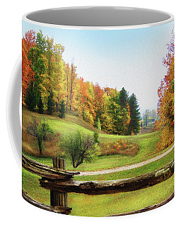 Just Over The Next Ridge Coffee Mug