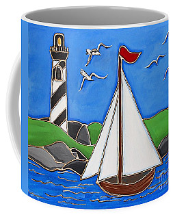 Just Sailing By Coffee Mug