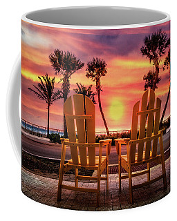 Coffee Mug featuring the photograph Just The Two Of Us by Debra and Dave Vanderlaan
