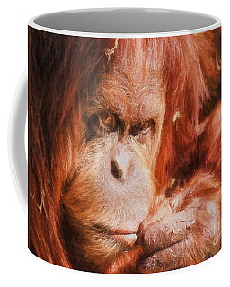 Just Thinking Hard Ewt Coffee Mug
