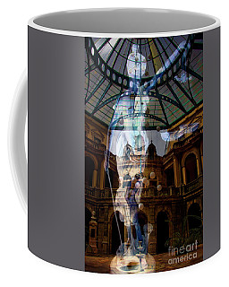 Coffee Mug featuring the photograph Justice Is Blind by Al Bourassa