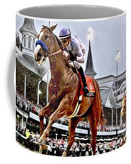Justify Wins Kentucky Derby Coffee Mug