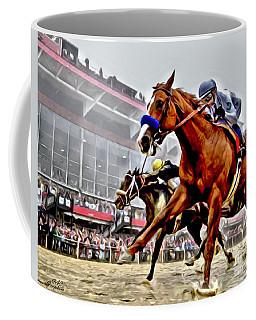 Justify Wins Preakness Coffee Mug