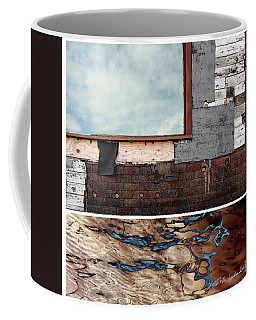 Juxtae #94 Coffee Mug by Joan Ladendorf