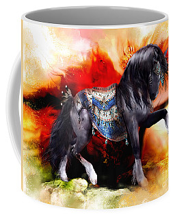 Kachina Hopi Spirit Horse  Coffee Mug