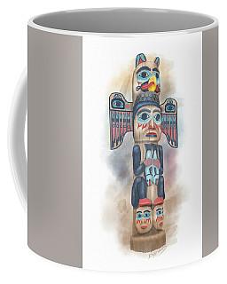 Kadjuk Bird Pole Coffee Mug