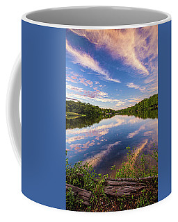 Kahler's Pond Clouds Coffee Mug