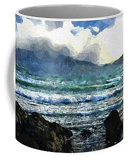 Kaikoura Seascape Coffee Mug by Kai Saarto