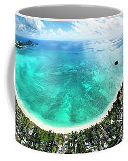 Kailua - Lanikai Overview Coffee Mug